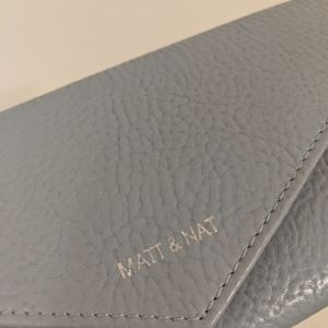 Matt and Nat baby blue wallet